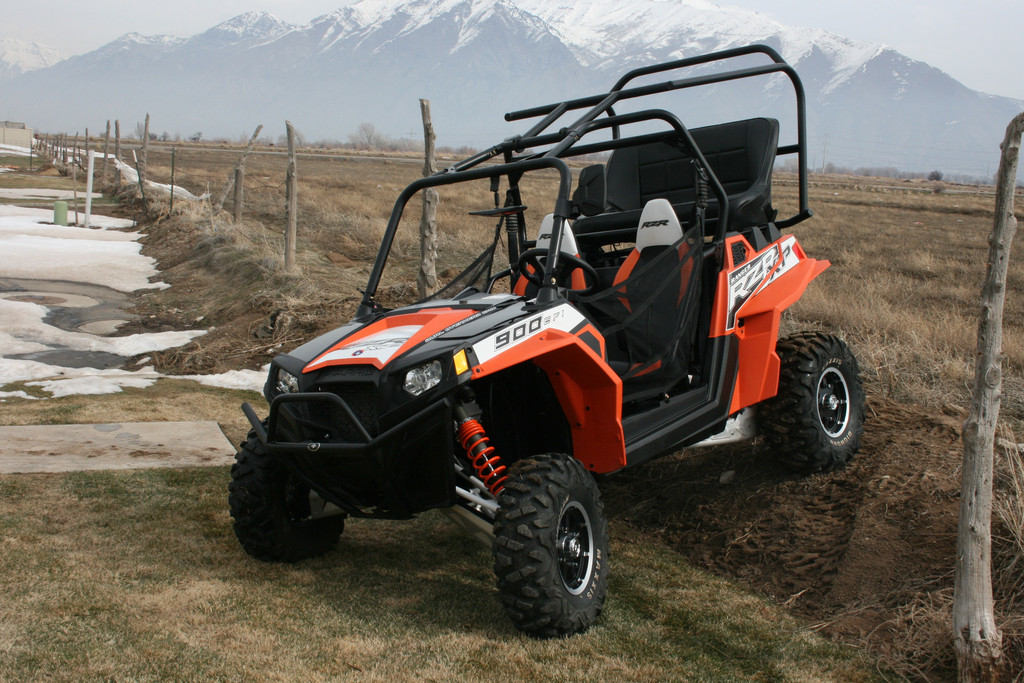 Polaris Rzr Xp 900 Back Seat And Roll Cage Trail King