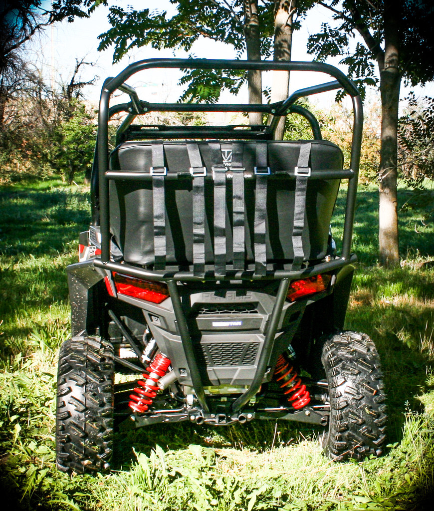 Golf Cart Roofs Polaris RZR 900, RZR 900S and 1000S Back Seat and Roll ...
