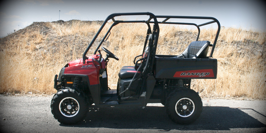 Polaris Ranger 800 Back Seat And Roll Cage Trail King