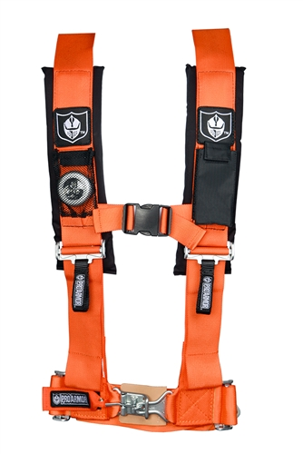 5 Point 3 U2033 Harness W   Sewn In Pads  Orange