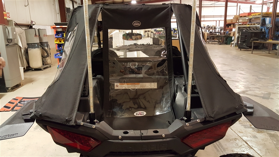 Trail Armor Fast Back Cab Enclosure With Whip Cutouts For