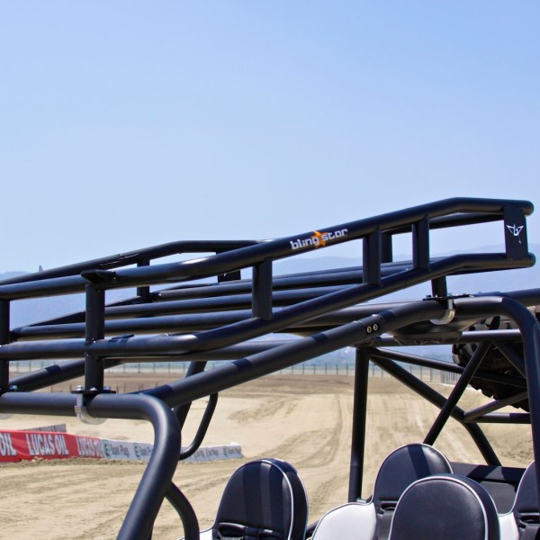 Polaris Rzr S And Xp900 4 Door Roof Rack With Shade Cover