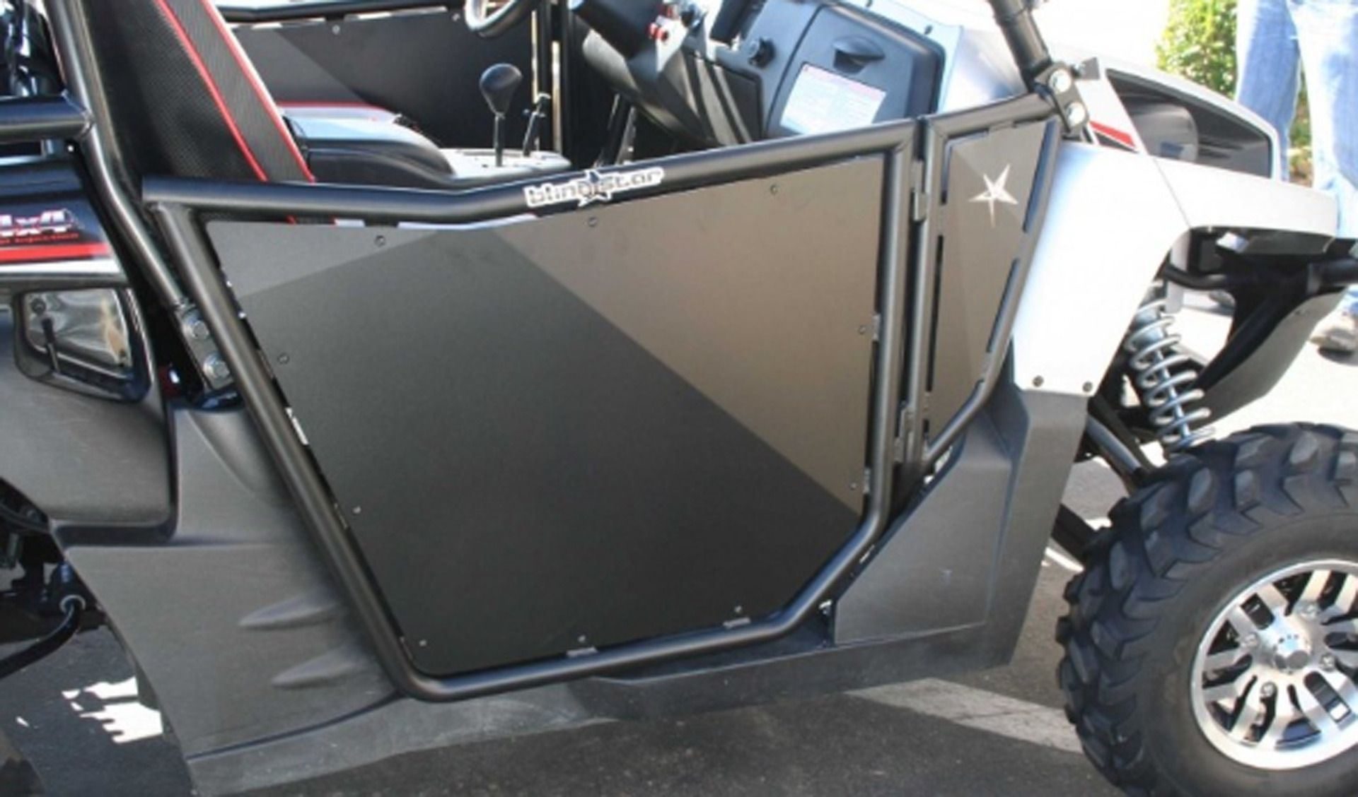 Trail King Off-Road & KAWASAKI Teryx NON-Suicide Doors Textured (2008-2013) | Trail King ...