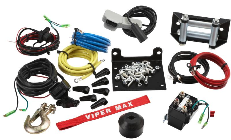 4500 LB Viper Max Winch and Mount Kit Viper Lb Winch Wiring Diagram on