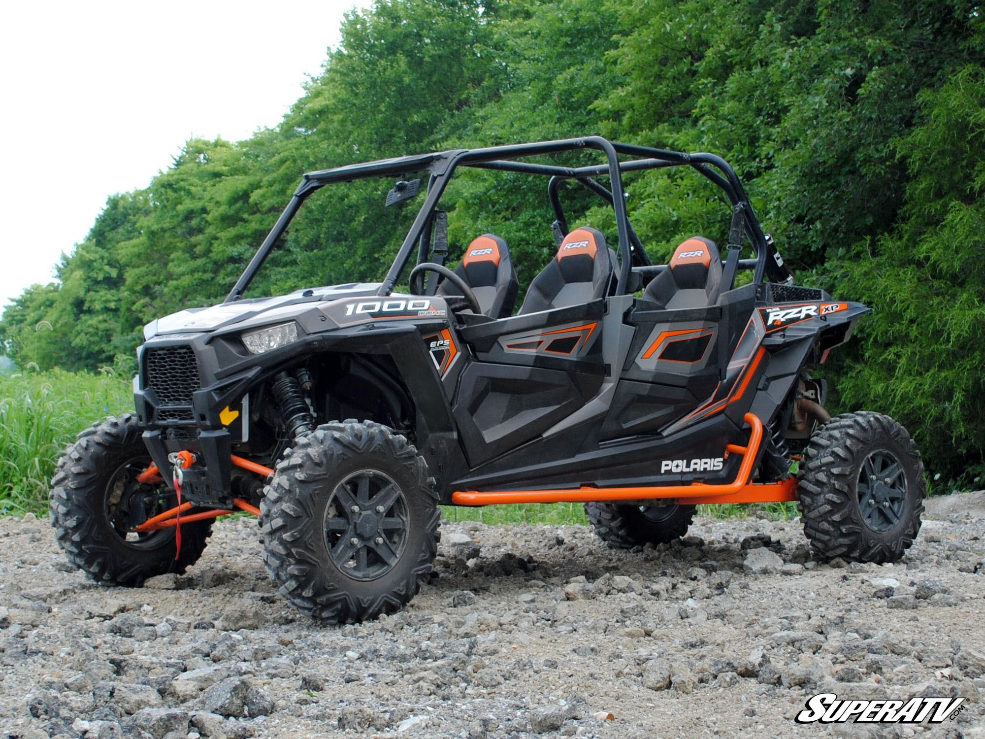 superatv polaris rzr 4 900 1000 rock sliding nerf bars. Black Bedroom Furniture Sets. Home Design Ideas