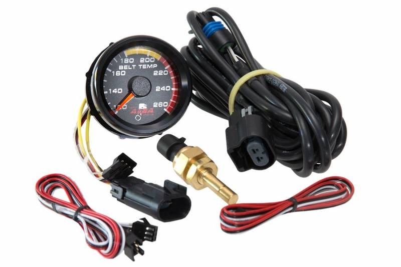 Alba Racing Belt Temperature Gauge and Belt Fan for Polaris RZR XP 1000 and  RZR XP Turbo