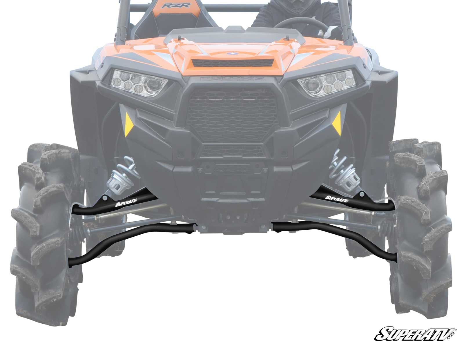 Polaris Rzr Xp 1000 Turbo >> Superatv Polaris Rzr Xp 1000 Xp Turbo High Clearance 1 5 Forward Offset A Arms Chromoly