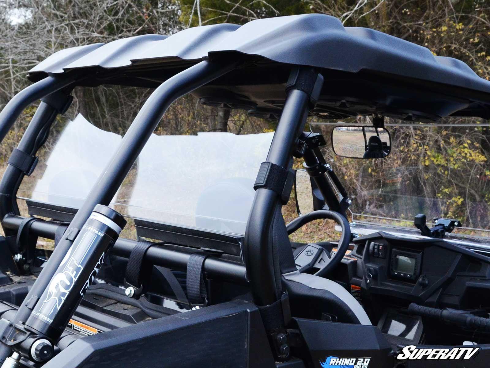 SuperATV Polaris RZR XP 1000 XP 1000 4 Seater, XP Turbo, XP Turbo 4 Seater Rear Windshield